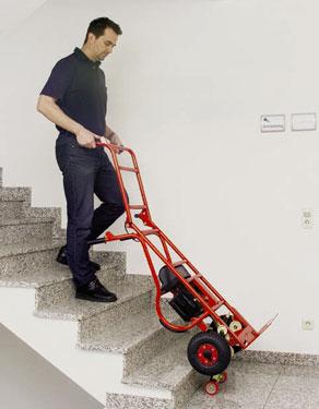 Trepador de escadas para carga