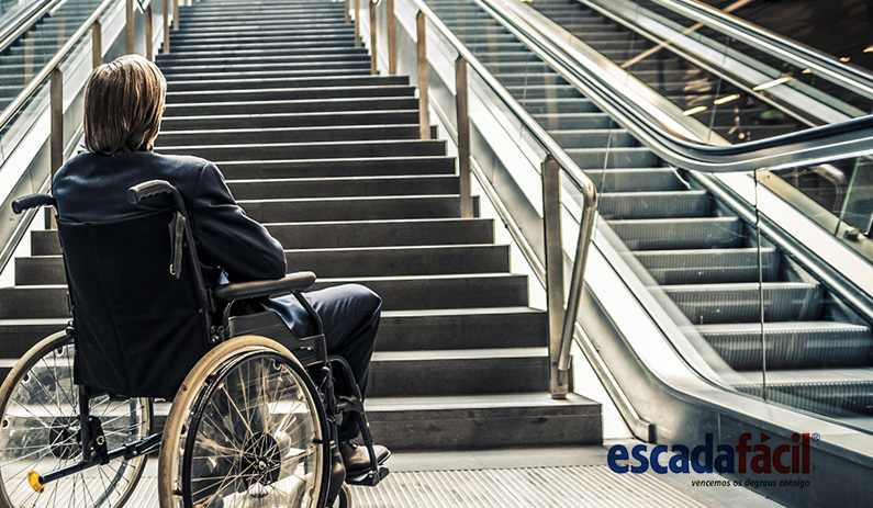Legislação acessibilidade para deficientes motores